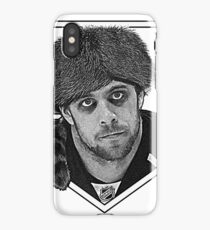 Coonskin Anze Kopitar Tee - LA Kings (two-color design) iPhone Case/Skin