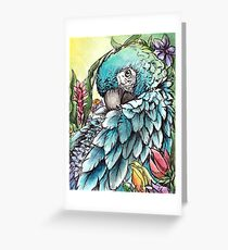 'Jungle Beauty'- Onyx Art Studios Greeting Card