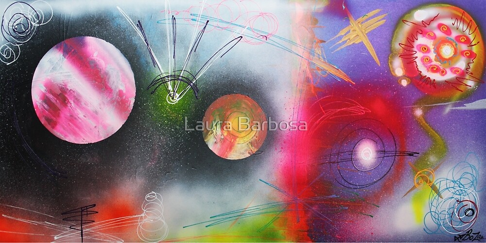 If I Were A Galaxy by Laura Barbosa