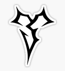 Zanarkand Abes_black Sticker