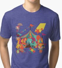 The Circus is in Town Tri-blend T-Shirt