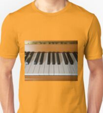 Section of Acoustic Piano Keyboard T-Shirt
