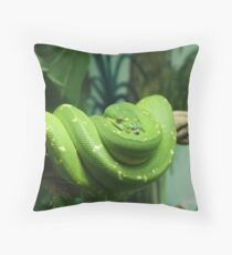 Haloed in Hope Throw Pillow