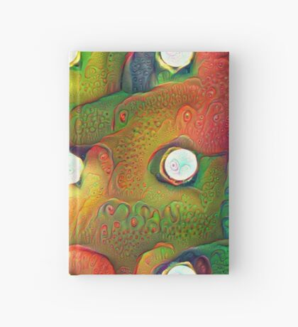 #DeepDream Lights 5x5K v1450982016 Hardcover Journal