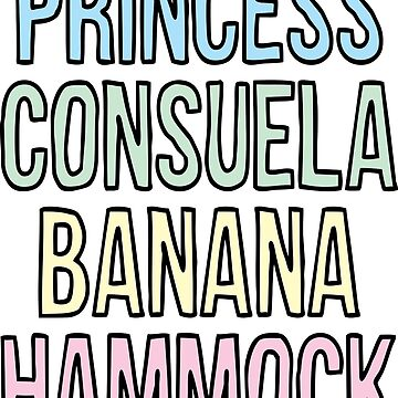 Princess Consuela Banana Hammock by Llamarama13