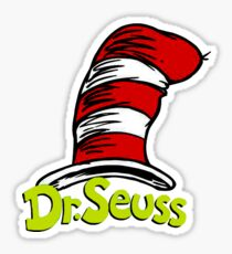 Dr Seuss Sticker