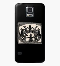 Witches Circle Dance Case/Skin for Samsung Galaxy