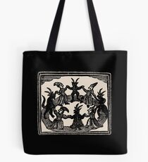 Witches Circle Dance Tote Bag