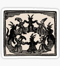 Witches Circle Dance Sticker
