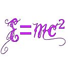 Pretty Equations One: E=mc2 by scholara