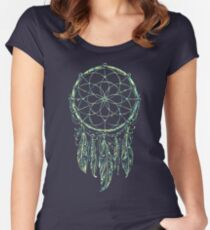 Dream Catcher Acid Women's Fitted Scoop T-Shirt