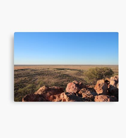 Dinosaur Lookout Canvas Print