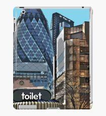 City toilet iPad Case/Skin