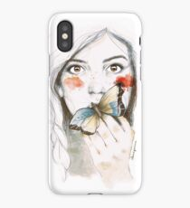 BUTTERFLIES STOMACH iPhone Case/Skin