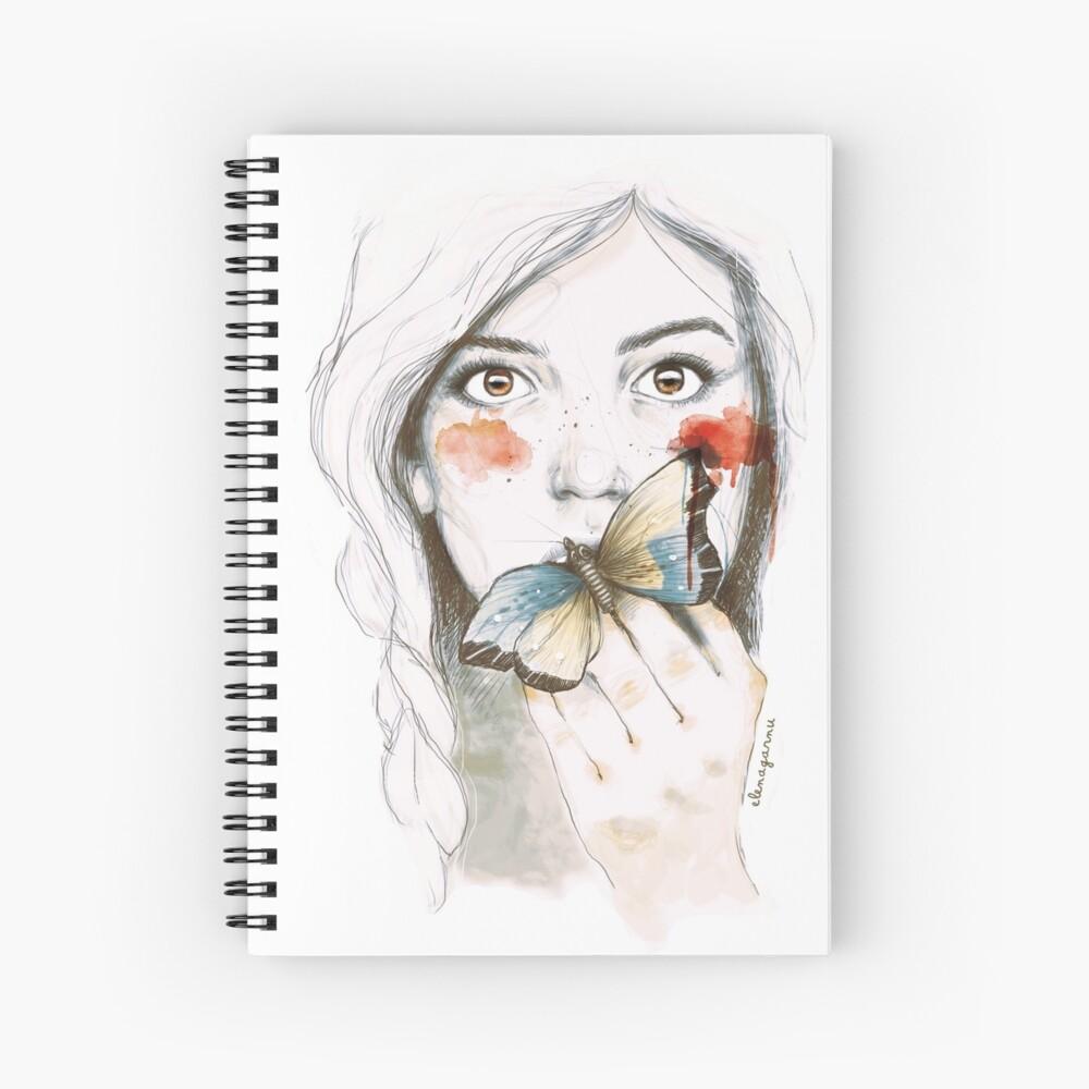 ESTOMAGO DE MARIPOSAS Cuaderno de espiral