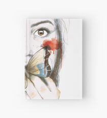 BUTTERFLIES STOMACH Hardcover Journal