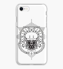 Geometric Butterfly Vector iPhone Case/Skin