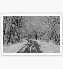 Shawano in Winter No. 1 Sticker