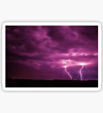Shawano County Lightning Storm No. 1 Sticker