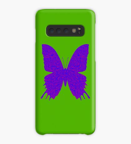 #DeepDream Purple Violet Butterfly Case/Skin for Samsung Galaxy