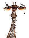 Wrapped giraffe by Jenny Wood