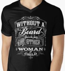 Beard Religion Men's V-Neck T-Shirt