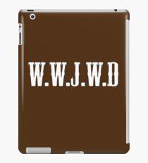 W.W.J.W.D iPad Case/Skin
