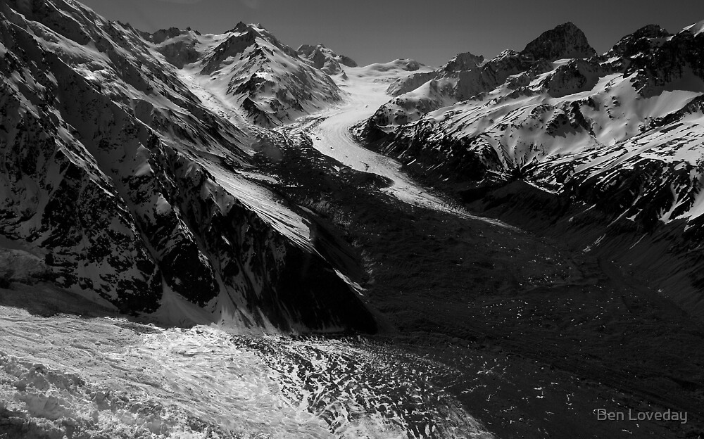In the Hall of the Mountain King- Glaciers by Ben Loveday