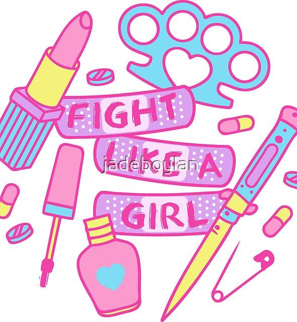 Mädchen Kämpfer von jadeboylan