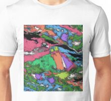 Mapping points Unisex T-Shirt