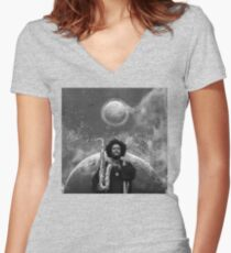 Kamasi Washington - The Epic Women's Fitted V-Neck T-Shirt