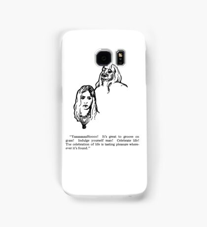 Groove on Grass Samsung Galaxy Case/Skin