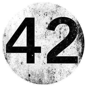 42 - Black Circle by EplusC
