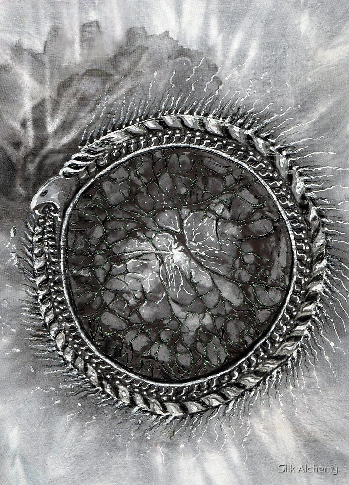 Uroboros and the Cosmic Egg  by Silk Alchemy