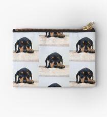 Miniature dachshund  Studio Pouch