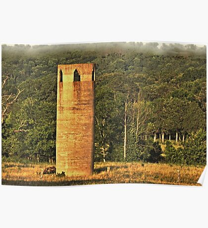 """""""An East Tennessee Farmer's Version of a European Castle""""... prints and products Poster"""