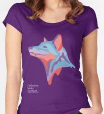 Catherine's Fox - Dark Shirts Women's Fitted Scoop T-Shirt