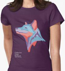 Catherine's Fox - Dark Shirts Womens Fitted T-Shirt