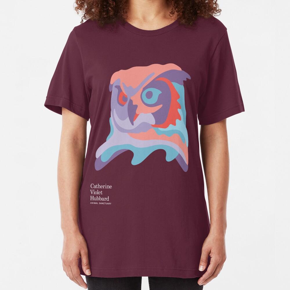 Catherine's Owl - Dark Shirts Slim Fit T-Shirt