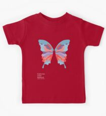 Catherine's Butterfly - Dark Shirts Kids Tee