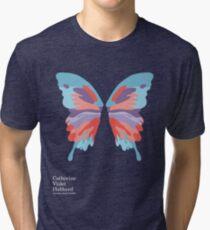 Catherine's Butterfly - Dark Shirts Tri-blend T-Shirt