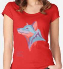 Catherine's Fox - Light Shirts Women's Fitted Scoop T-Shirt