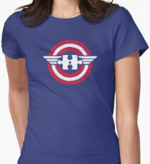 Autism Awareness Shirt for Autism Month | Captain Autism Superhero T-Shirt Women's Fitted T-Shirt