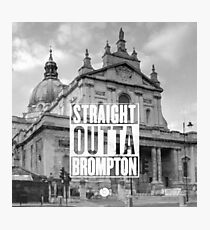 Straight Outta Brompton! Photographic Print