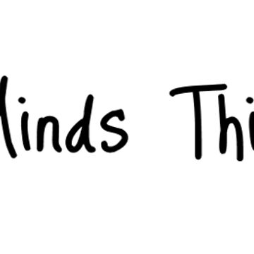 Stupid Minds Think Alike (sticker) by micahdude543211