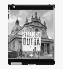 Straight Outta Brompton! iPad Case/Skin