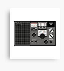 Pixel Radio 1 of 3 Canvas Print