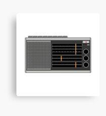 Pixel Radio 2 of 3 Canvas Print