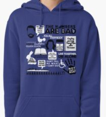Lost Quotes Pullover Hoodie