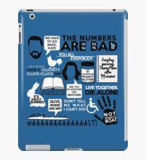 Lost Quotes iPad Case/Skin